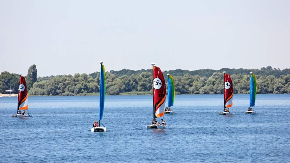 voiliers sur le lac d'orient   © pnrfo js