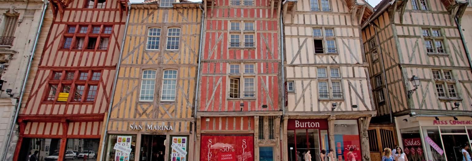 Pans de bois Rue Emile Zola  © Nicolas Dohr
