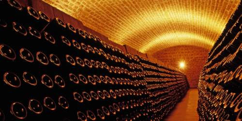 champagne cave bouteille  © Philippe Praliaud