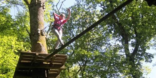 Tree climb adventure track Grimpobranches
