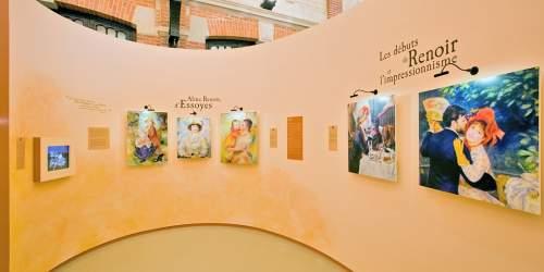 Galerie du côté des Renoir