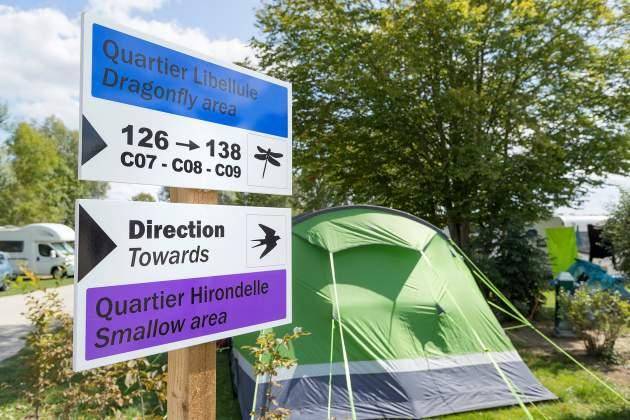 Quartier camping
